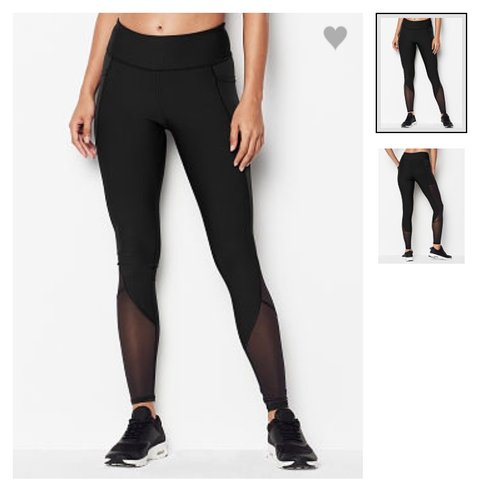 2e275d856affc3 @askinner2399. 6 months ago. Remus, United States. New w/ tags Victoria  Secret Sport Tights! Black w/ mesh.