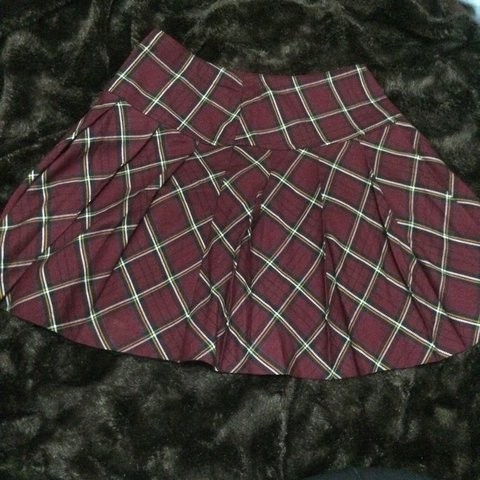 b818007d9112 @jhartery. 3 years ago. Witless Bay, NL, Canada. pleated plaid mini/schoolgirl  skirt. size small. ...