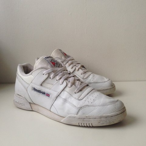quality design 11e18 4af23 Reebok Workout Plus   White Royal- 0