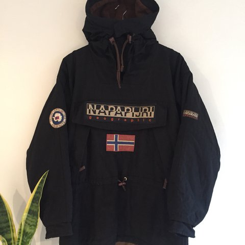 f37a42ff25adb7 Vintage Napapijri Trans Antarctic Expedition Voyage Jacket