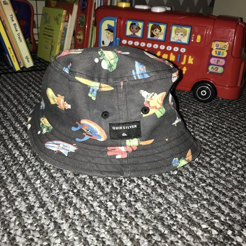 low priced af393 c5b1e  lil gxx. 3 months ago. Worcester, United Kingdom. Boys infant QUIKSILVER  bucket hat
