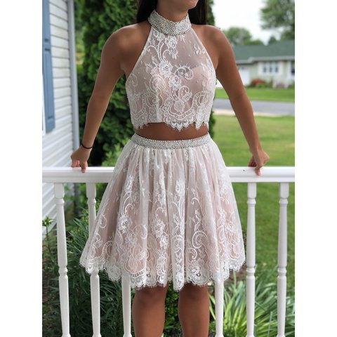 662a69ce6e0 Sherri Hill Size 2 Two Piece Dress 32290 This dress is for - Depop