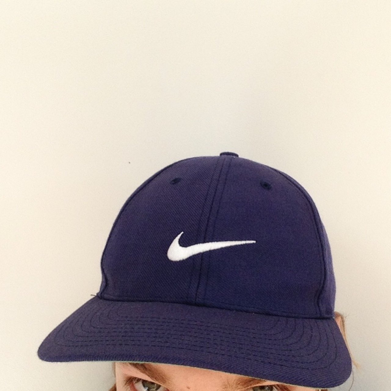 Nike sports cap. Size 7 1 2. Original Nike. Blue Navy  nike - Depop 06f11f13cd3