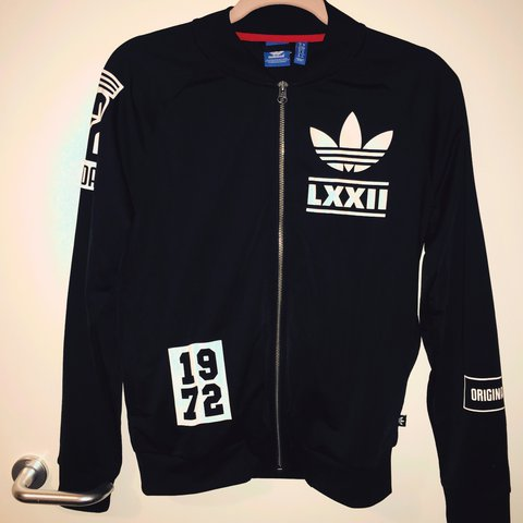 2896f5a43c5 Adidas Berlin Tracksuit Jumper Top. Been worn a few times. - Depop
