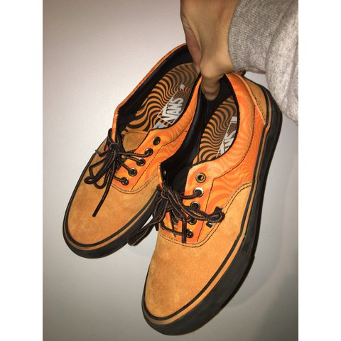 4b1ef477d7f50c Vans x Spitfire Era Pro Shoes ‑ Cardiel Orange Only skated - Depop