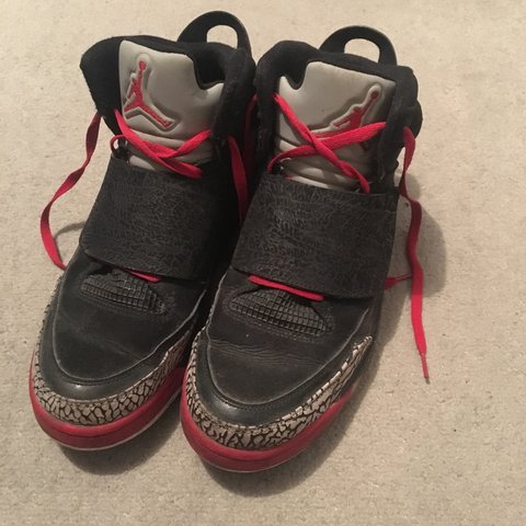 hot sale online 4664a 05a26  darrenmcgill9. 2 years ago. Airdrie, UK. Nike Air Jordan Son Of Mars, Black  Red ...