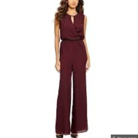 c0536d2eecf Gianni Bini grape jumpsuit. I wore it once