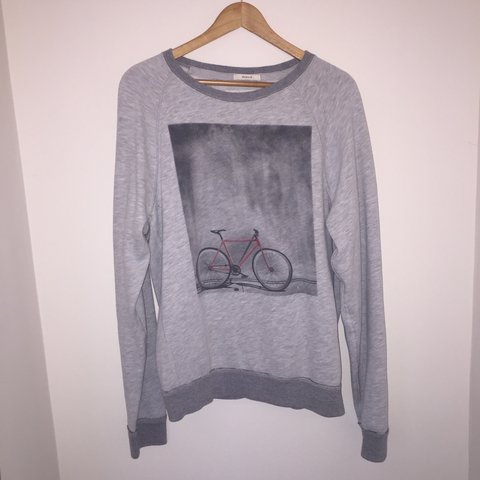 8323721f848e Abercrombie & Fitch grey sweatshirt. Great condition, no or - Depop