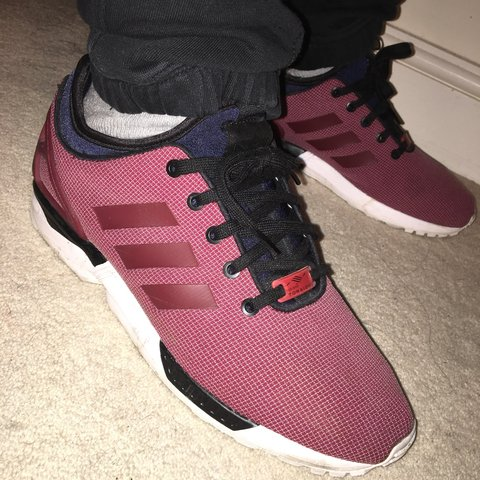 5efef6a72c0d9 Adidas flux trainers size 9 colour more like in second pic