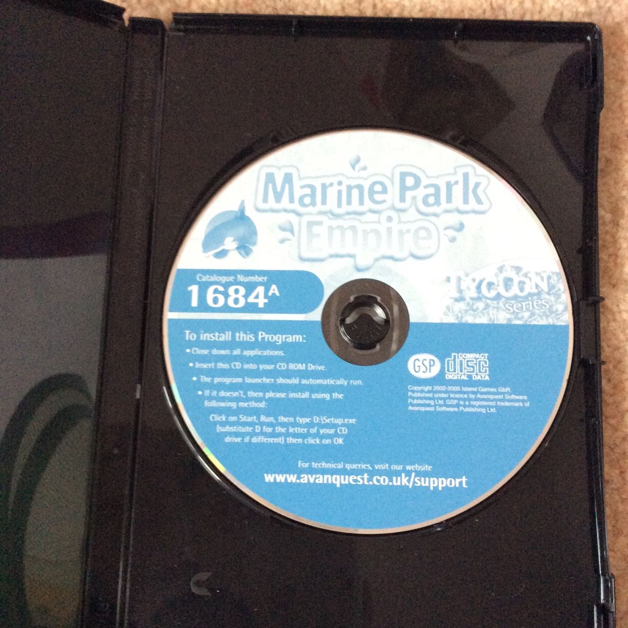 Marine Park Empire PC game 🌸 Great condition 🎀 - Depop