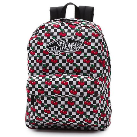 682bb1451b Authentic VANS CHERRY backpack! Brand new- never before for - Depop