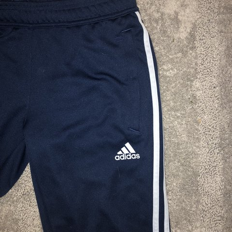 navy blue adidas soccer pants