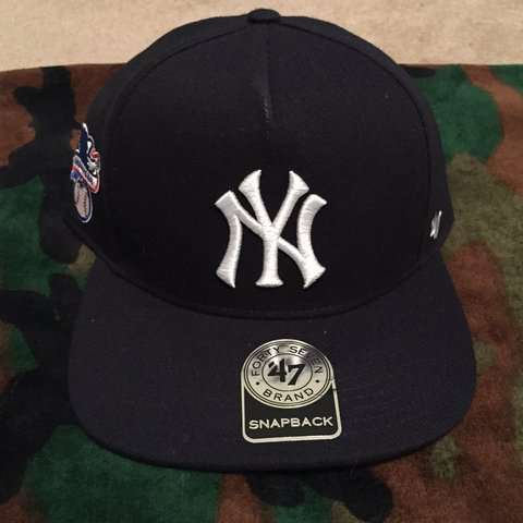 ed68545ad56 Supreme x New York Yankees x 47 Brand snap back. BNWT. 100% - Depop