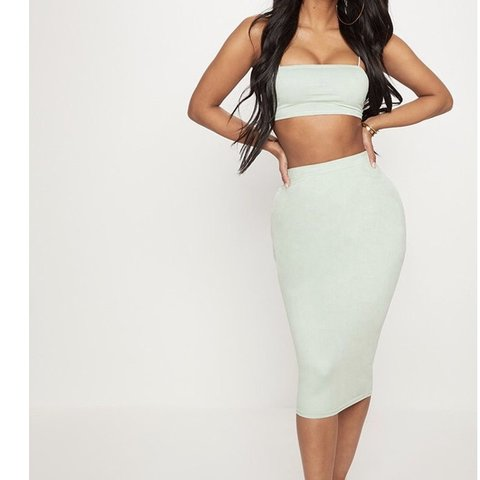 f8eddee2ddce5 PLT mint green 2 piece This season Condition perfect worn   - Depop