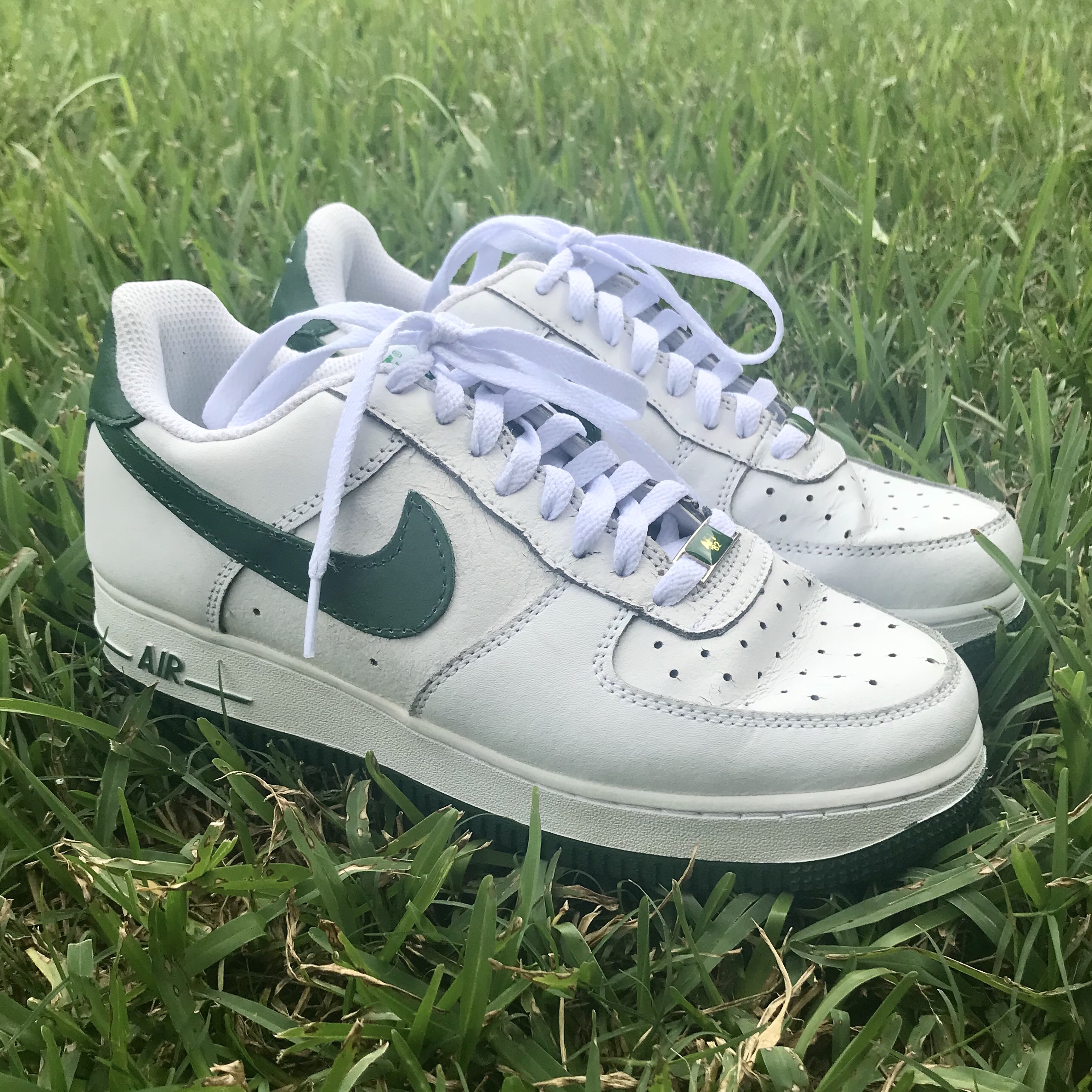 Nike Air Force 1 White/Pine Green these