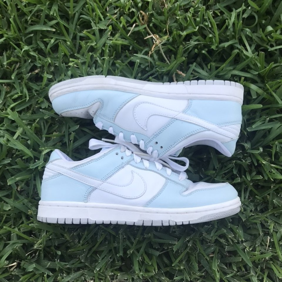 Nike Dunk Low Baby Blue These are in