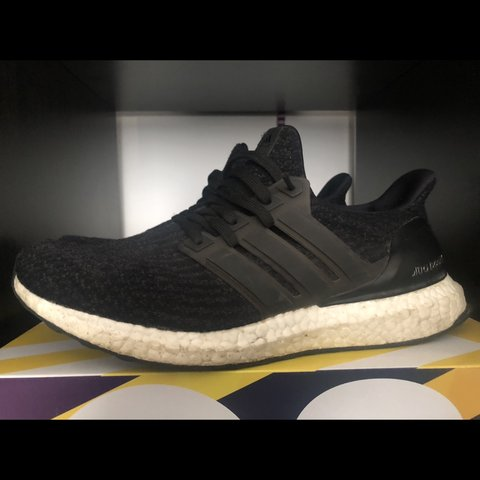 feede1f83 ADIDAS ULTRA BOOST BLACK WHITE 4.0 COMES WITH BOX NO SWAPS - Depop
