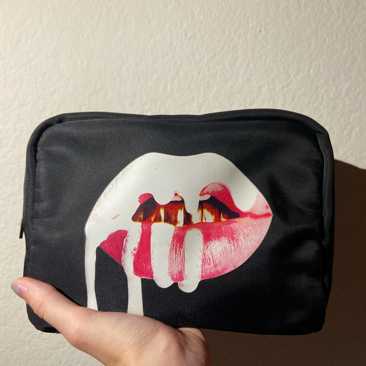 Kylie Jenner Kylie Cosmetics Makeup Bag No Flaws Depop