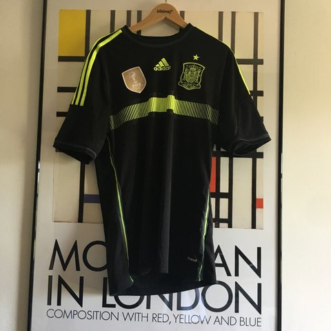 270c8cf70 @benrylance. last month. Warrington, United Kingdom. Spain World Cup Adidas  shirt from 2014 , size medium ...