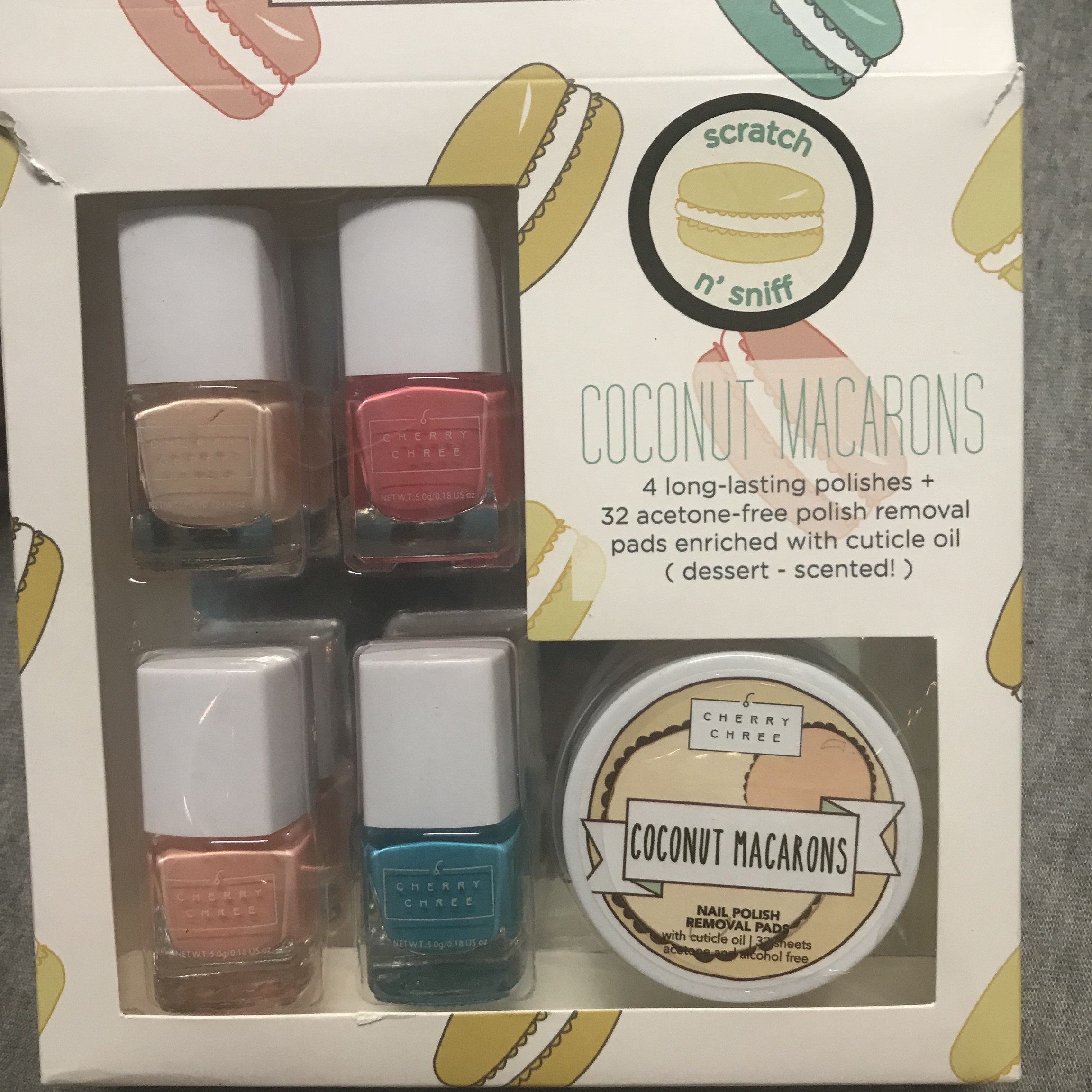 Scented Nailpolish Set Haven T Used It Just Messed Depop