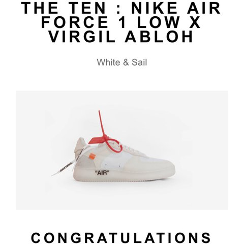 491730a45f @michaeldigan. 2 years ago. Manchester, United Kingdom. Nike x Off white  'the ten' air ...