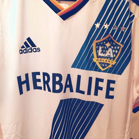 65561fd1cfe @stevesells. 4 years ago. Leicester LE4, UK. LA Galaxy soccer jersey #soccer  #lagalaxy #football #herbalife NEVER ...