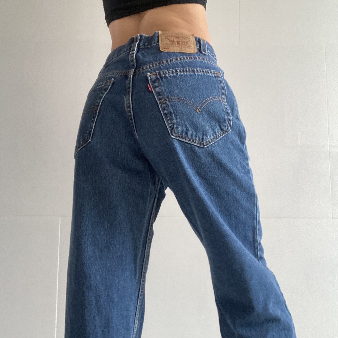 Authentic Denim Relaxed 550 Deadstock Levi's Mom Jeans