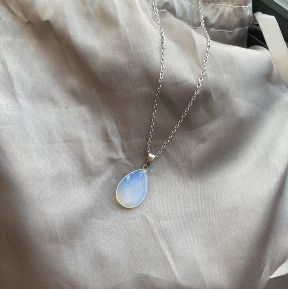 Pearl Of Queens Moonstone Charm Necklace