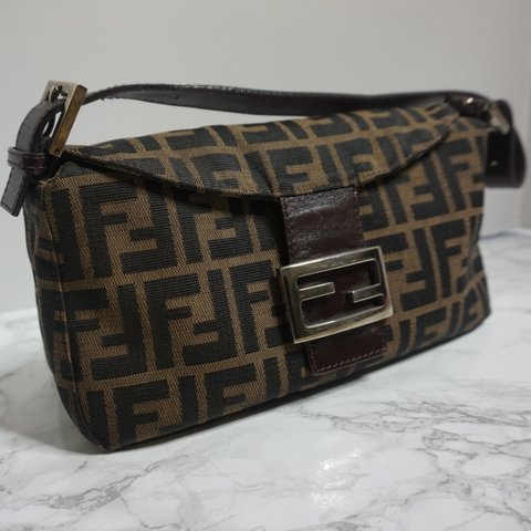 Vintage Fendi Zucca Baguette. I will provide a white one for - Depop fc872d72a6bce