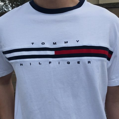 306b5c01 @animuy. 2 months ago. Irvine, United States. Tommy Hilfiger white t-shirt.