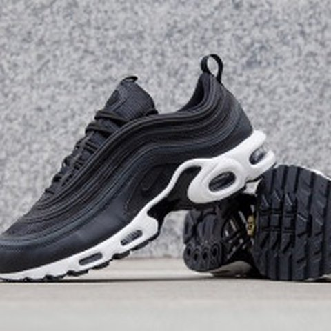 a42424e8ff66 Nike Air Max 97 Plus TN Black anthracite white plus pairs of - Depop