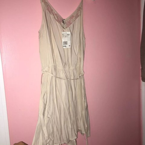 cd23e1fa7db Brand new H M romper blush pink color little wrinkled but in - Depop