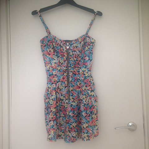 b08681a25a4 Selling this gorgeous summer floral playsuit from lipsy worn - Depop