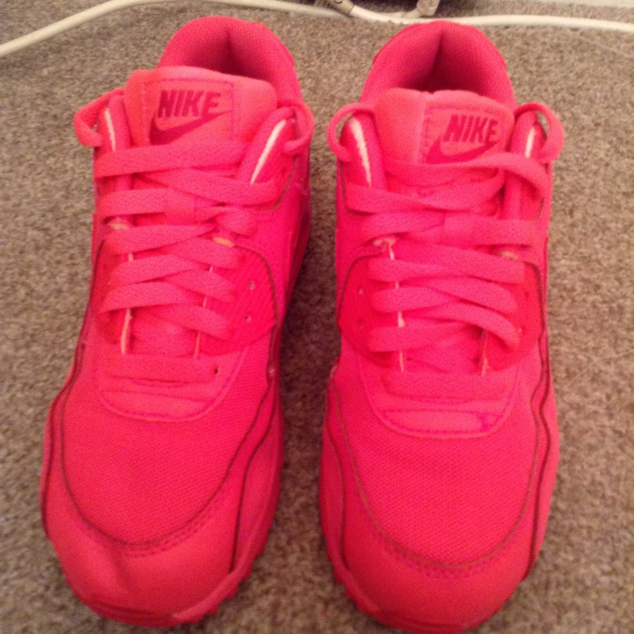 ladies Nike air max  pink nikes  limited edition. Bought in - Depop 35a98c3693
