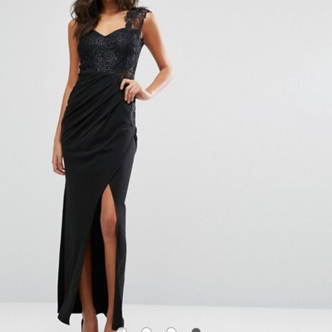 68f2c636 Maxi Dress by Michelle Keegan from Lipsy London. This is as - Depop