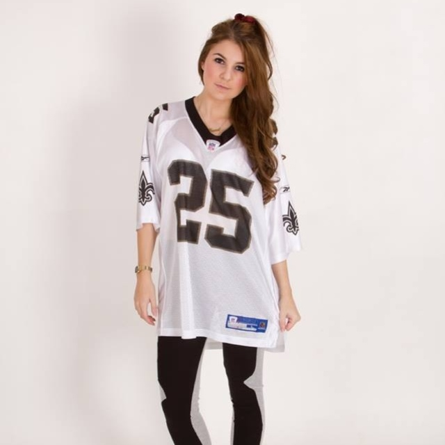 timeless design 3bf22 14bc3 New Orleans Saints American Football Jersey Top.... - Depop