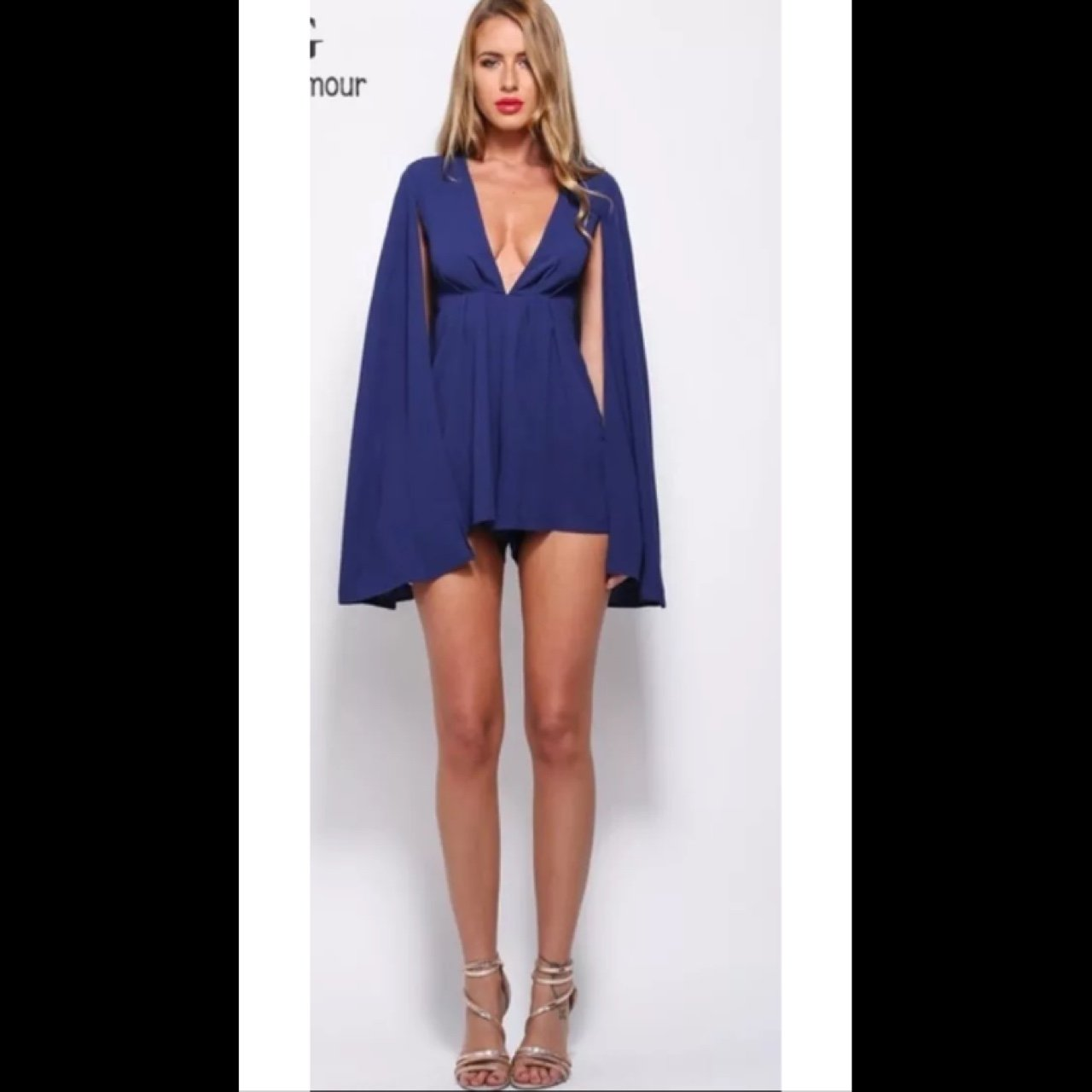 1912ec544c Cape plunging Playsuit. New without