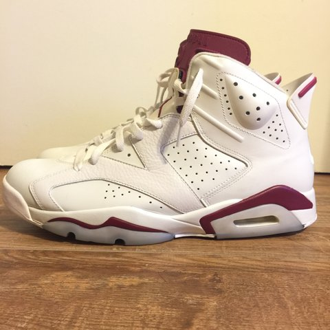 9062a470319373 Air Jordan Maroon 6 s. Barely worn. No low ballers. - Depop