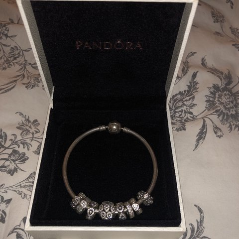 044d44c0b @bettyyhill. 4 months ago. United Kingdom. Selling my pandora bangle with all  charms✨