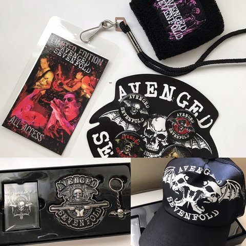c0877689d5445 Limited edition Avenged Sevenfold gift box (3447 5000) 🦇 a - Depop