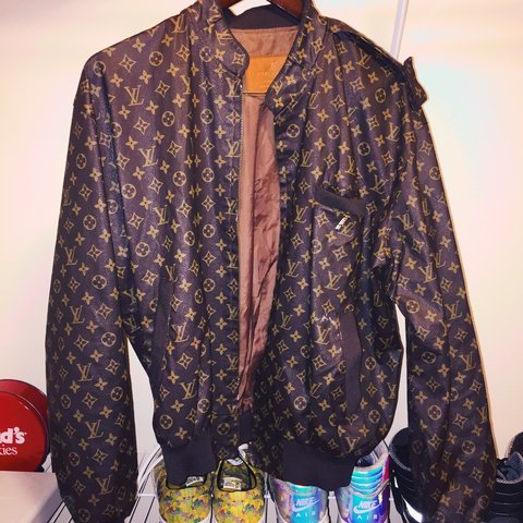 eeaa417576e1 Louis Vuitton Members Only Vintage Jacket. Bought at vintage - Depop