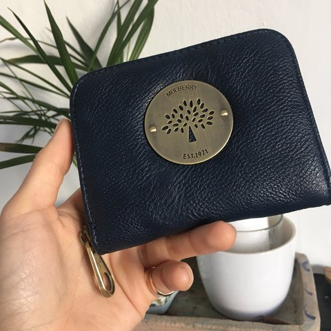fba89d828f @elsyard. last year. Sheffield, UK. Mulberry style purse with logo ...