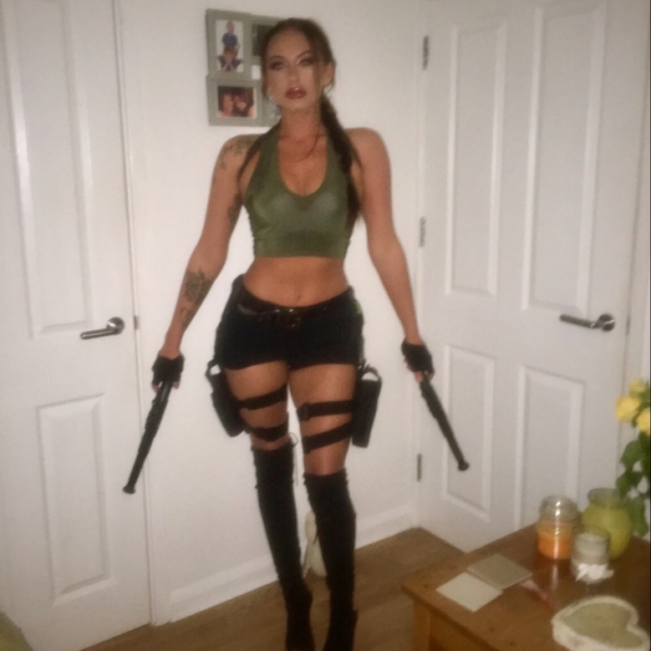 The Holy Ghost Electric Show Lara Croft Costume
