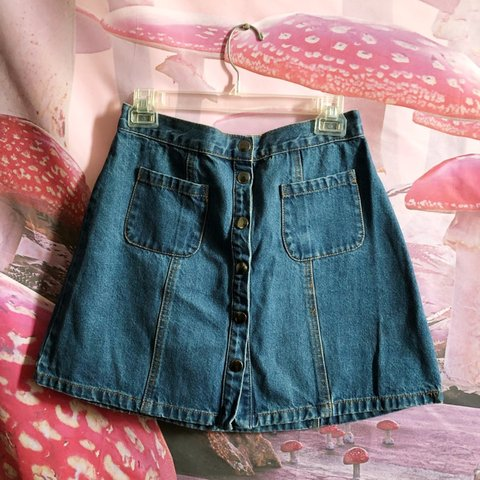 7ae190f2c7 @samrogers. 2 months ago. New York, United States. Urban Outfitters BDG  A-Line denim ...