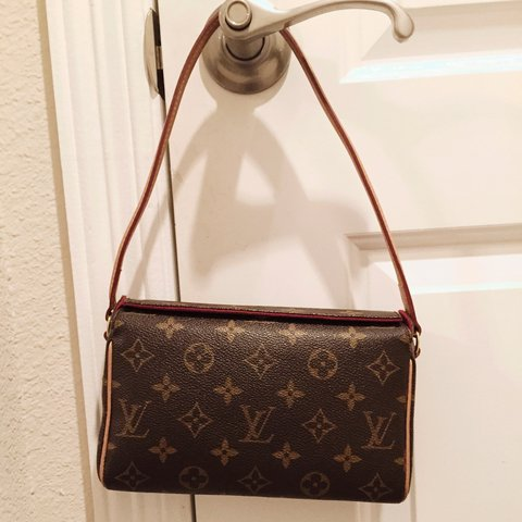 f66a7e290414 Louis Vuitton recital bag  louisvuitton  LV authentic. No is - Depop