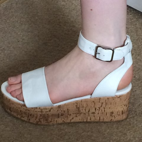 2d01f48acc H&M wedge sandals - excellent condition, never worn! Great a - Depop