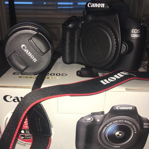 Selling my Canon EOS 1200D professional camera  Used    - Depop