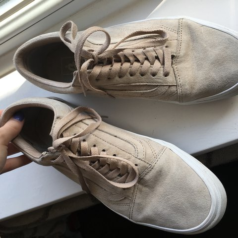 a8a1244c53 Hummus old skool vans. Size 7. Only been worn a handful of - Depop