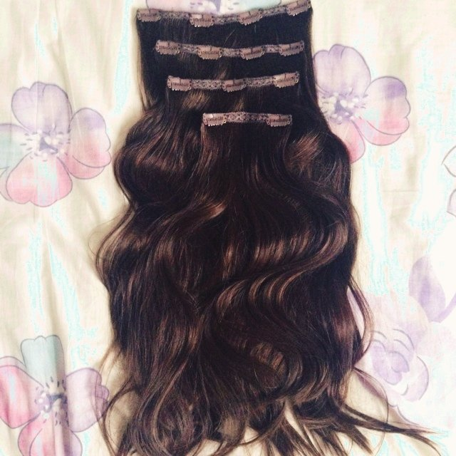 Reserved Bellami Hair Extensions In Dark Brown 100 Human Depop