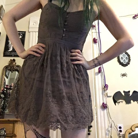 0d0b7797189 @elfdoll. 2 years ago. Chicago, United States. Purple American eagle  outfitters lace summer dress